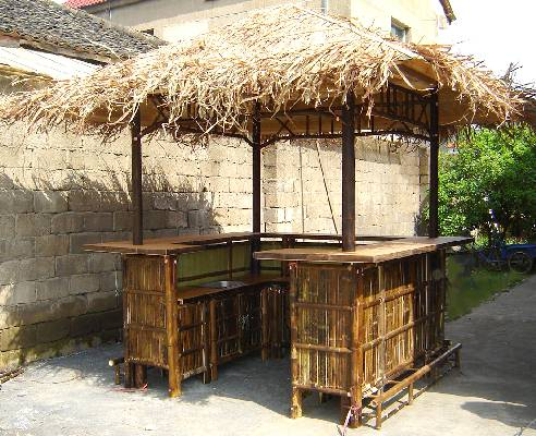 Real bamboo tiki bars business - Bamboo bar design ideas ...