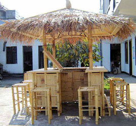 Real Bamboo Tiki Bars For Home Or Business
